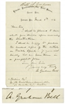 Alexander Graham Bell Autograph Letter Signed Regarding Visible Speech